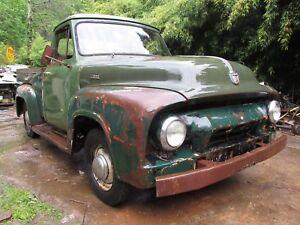 FORD 1954 F100 RHD TRUCK PICKUP 1953 1955 1956 RARE ORIGINAL AUSSIE DELIVERED 54
