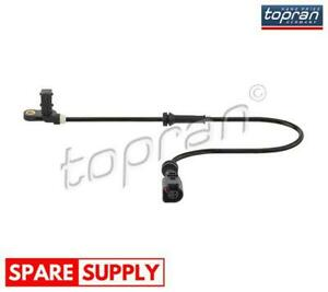 SENSOR, WHEEL SPEED FOR FORD SEAT VW TOPRAN 115 599