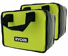 (2) New Ryobi Tool Bags (10x8x6) Cases For Hand and Power Tools
