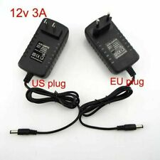 DC 5V 12V 0.5A 1A 2A 3A Power Supply Charger Adapter Transformer match LED Strip