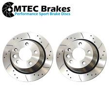 VW TRANSPORTER CHASSIS CAB T5 1.9 TDi 2.5 TDi 2003-2010 REAR BRAKE DISCS 314mm