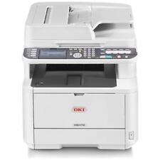 OKI MB472DNW Stampante Multifunzione Stampa Copia Scansione Fax A4 B / N 33 Ppm