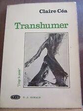 """Claire Céa: Transhumer/ Oswald Collection """"j'exige la parole"""""""