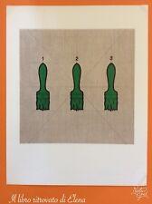 7-FL Fotolitografia Tino Stefanoni. I Pennelli. Senza firma. Bolaffi 1974