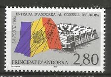 Cept / Europa/ Mitläufer  1995   Andorra - F  **