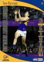✺New✺ 2020 WEST COAST EAGLES AFL Card TOM BARRASS Teamcoach