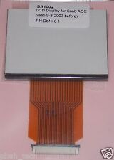 SAAB 9-3 ACC LCD Pixel Repair - Replacement LCD Display and Ribbon Cable