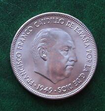 PRECIOSA 5 PTAS. DE 1949 (19-50 ) FRANCO SC- (VER FOTO)