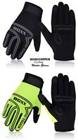 Cycling Full Fingers Gloves Windproof Gel Padded Touchscreen MTB winter Gloves