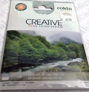 Genuine France Cokin P-Series P120 Graduated Neutral Grey G1 Filter CP120 Square