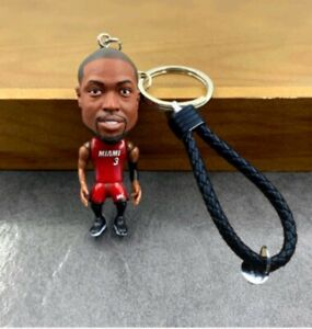NBA Player Keychain Dwyane Wade