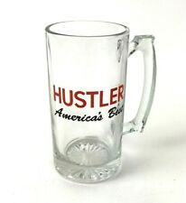 Vintage Hustler Large Beer Mug America's Best 24 oz Breweriana man cave dad gift