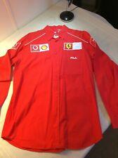 formula 1 shirt - Ferrari / Vodafone / Shell long sleeve Team Shirt (XL) by FILA