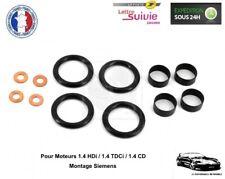 Kit Joint 4 Injecteurs Citroën-Ford-Peugeot-Mazda 1.4 Hdi Tdci - Pompe Siemens