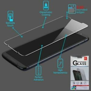 Moto Z3 Play, Tempered Glass Screen Protector (2.5D)