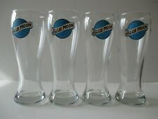 Blue Moon 16oz Pilsner Glass - Set of 4