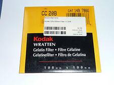 Kodak WRATTEN FILTRI 100mmx100mm no. cc 020b