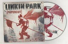 linkin park - papercut  rare cardsleeve  cd