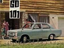 Vauxhall Victor FC 101 1966-67 UK Market Foldout Brochure Standard Super De Luxe