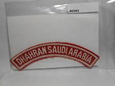 DHAHRAN SAUDI ARABIA RED & WHITE   B2283