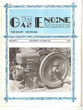 Augustine Rotary Engine, Internal Combustion, 10-20 IHC 1976 Gas Engine Magazine