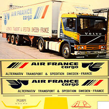 1:87 Camion Decalcomania,LKW decalcomania Volvo AIR FRANCIA cargo Svezia S