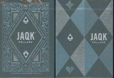 CARTE DA GIOCO JAQK CELLARS  edizione 2008 light blue ,poker size