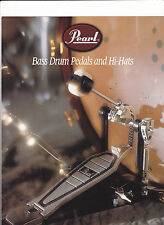 VINTAGE MUSICAL INSTRUMENT CATALOG #10594 - 1996  PEARL DRUM PEDALS & HI-HATS
