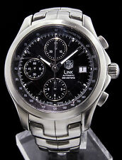 Tag Heuer Link Chronograph CJF2110 Date,Automatic, Analog Men's Modern Stainless