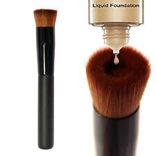Pinceau Plat A Fond De Teint Cosmétique Noir Maquillage Teint Brosse Concave