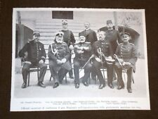 Anno 1905 Verand De Schostak Degiorgis Fairholm Alten Albera Scevis Caprini