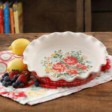 The Pioneer Woman Vintage Floral 9-Inch Pie Plate