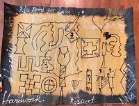 Original Acrylic Painting Mixed Media Unity & Trust Kayem 2008 African Painting