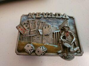 Rare Nevada Belt Buckle - Siskiyou
