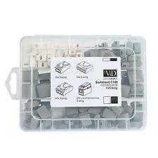 ViD Steckklemmen I Verbindungsklemmen Box 130 Stück Dosenklemmen Set Sortiment