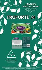 Troforte Fertiliser Vegetable Herbs 20kg Langley Fertilizer Minerals Microbes