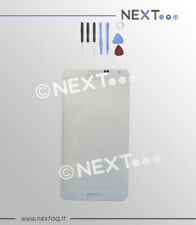 Vetro per schermo display touch screen samsung galaxy note 3 bianco + kit
