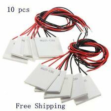 10 Pcs 12v 60w Tec1-12706 Heatsink Thermoelectric Cooler Peltier Cooling Plate T