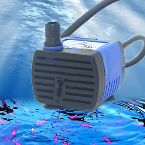 AC 220v~240v 3W 220L/H Small Submersible Water Pump for Fountain Fish Aquar J2T6