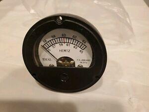 55-65 60 HZ Hertz Frequency Meter,MEP 002A,003A,802A,803A,804A,805AGenerator