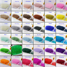 1 Meter Ostrich Feather Fringe Trim Fluffy Ostrich Feathers DIY Craft projects