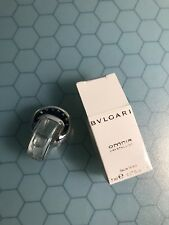 BVLGARI OMNIA CRYSTALLINE 0.17 FL oz /5 ML Eau De Toilette Travel Miniature NIB