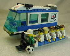 LEGO SPORTS 3405 TEAM TRANSPORT BUS  Soccer/Football WORLD CUP  ENGLAND Complete