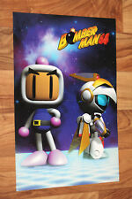 1997 Bomberman bombarderos Man 64/Disney's Hercules Nintendo n64 póster 42x28cm