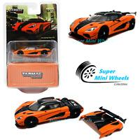 Tarmac Works 1:64 Koenigsegg Agera RS - Orange -GLOBAL64 - Diecast Car Model