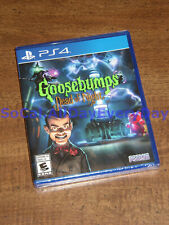 Goosebumps: Dead of Night (PlayStation 4, Physical) BRAND NEW FACTORY SEALED ps4