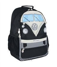 Backpack T1 Camper Van Bus Black Volkswagen VW Collection by BRISA BUBP03