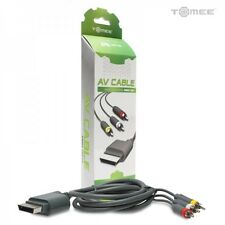 NEW IN BOX Tomee AV Audio Video Cable Composite RCA Cable for XBOX 360 System