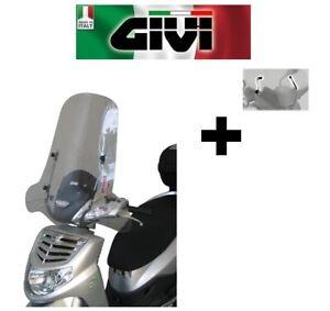 Parabrisas Completo Transparente Sym HD Evo 125-200 2007 2008 2009 GIVI