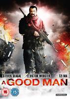 A Good Man DVD (2014) Steven Seagal, Waxman (DIR) cert 15 ***NEW*** Great Value